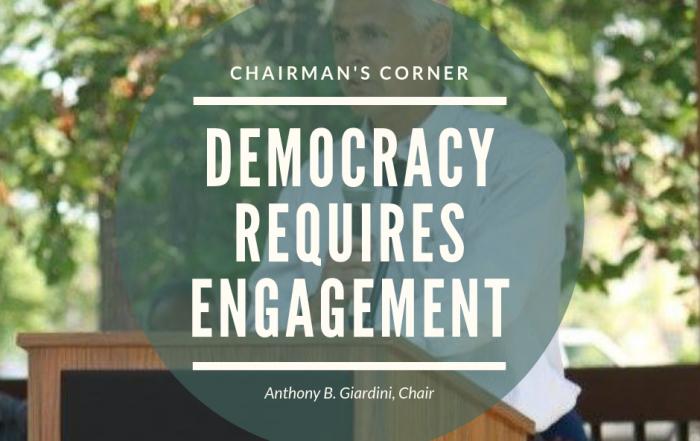 Democracy Requires Engagement